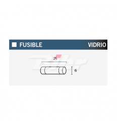 FUSIBLE 20A 25MM