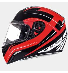 Casco integral MT Helmets Mugello Maker Rojo