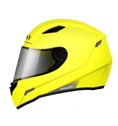 Casco integral MT Helmets Mugello Solid Amarillo Fluor