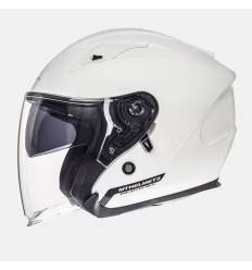 Casco jet MT Helmets Avenue Solid Blanco