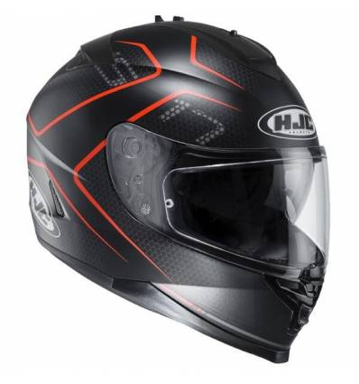 Casco Integral HJC IS17 LANK MC1SF NEGRO