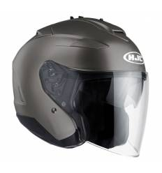 Casco jet HJC IS-33 II TITANIO MATE
