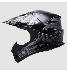 Casco cross MT Helmets Synchrony Native Gris