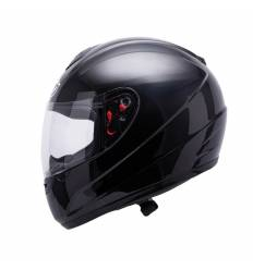 Casco integral MT Helmets Thunder Kids Solid Negro